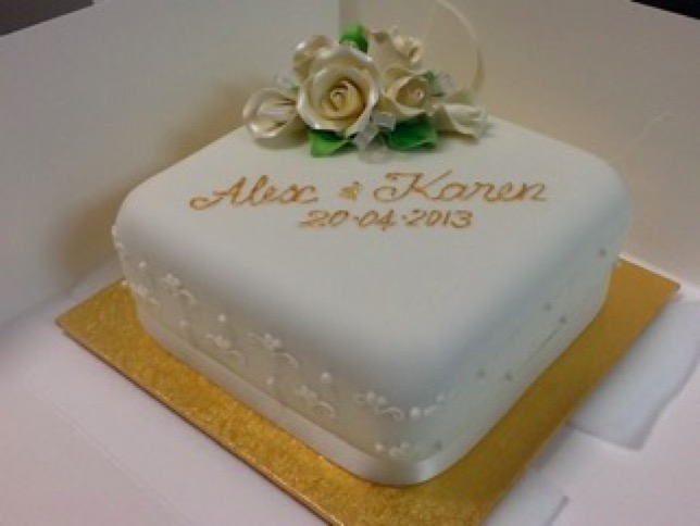 Cake Art South Penrith : Single tier wedding cakes